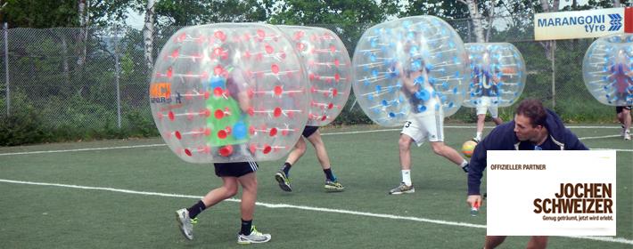 Bubble Ball in Bad Kissingen, Würzburg und ganz Bayern