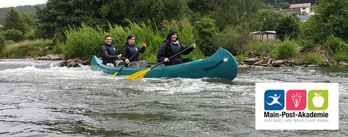 Kanutour Saale Gräfendorf Hammelburg MC Kamp & MCK-Sports